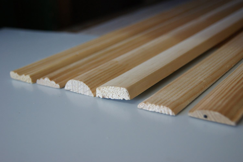 Tableros de madera crudos