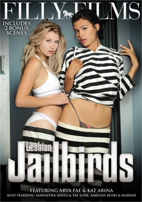Play Now Lesbian Jailbirds Adult Movie DVD