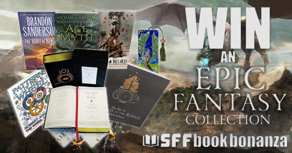 Win an Epic Fantasy Book Collection   SFF Book Bonanza   Discover     Win an Epic Fantasy Book Collection