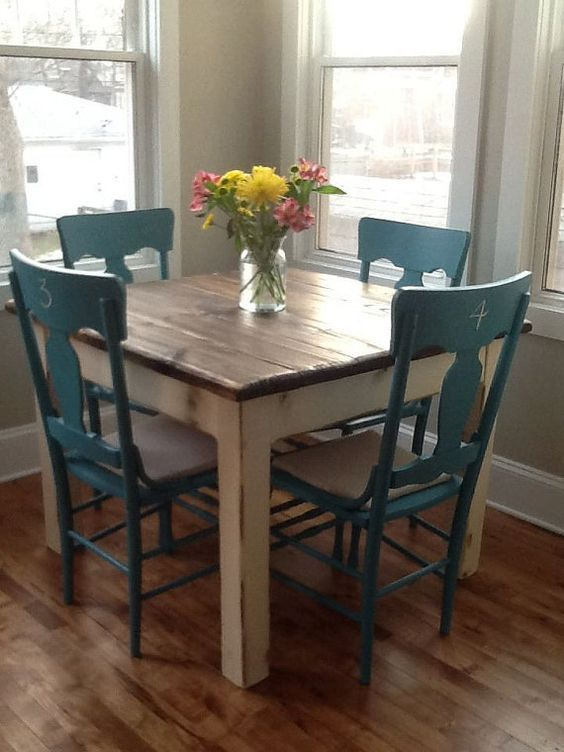 8 Ways To Make Rustic Farmhouse Dining Tables Stand Out In