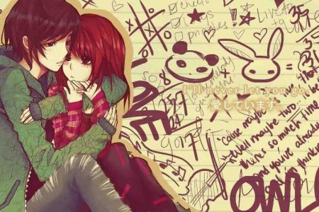Anime love couple wallpaper   SF Wallpaper Anime Love Couples Anime Wallpapers HD   3D Anime Couple     src