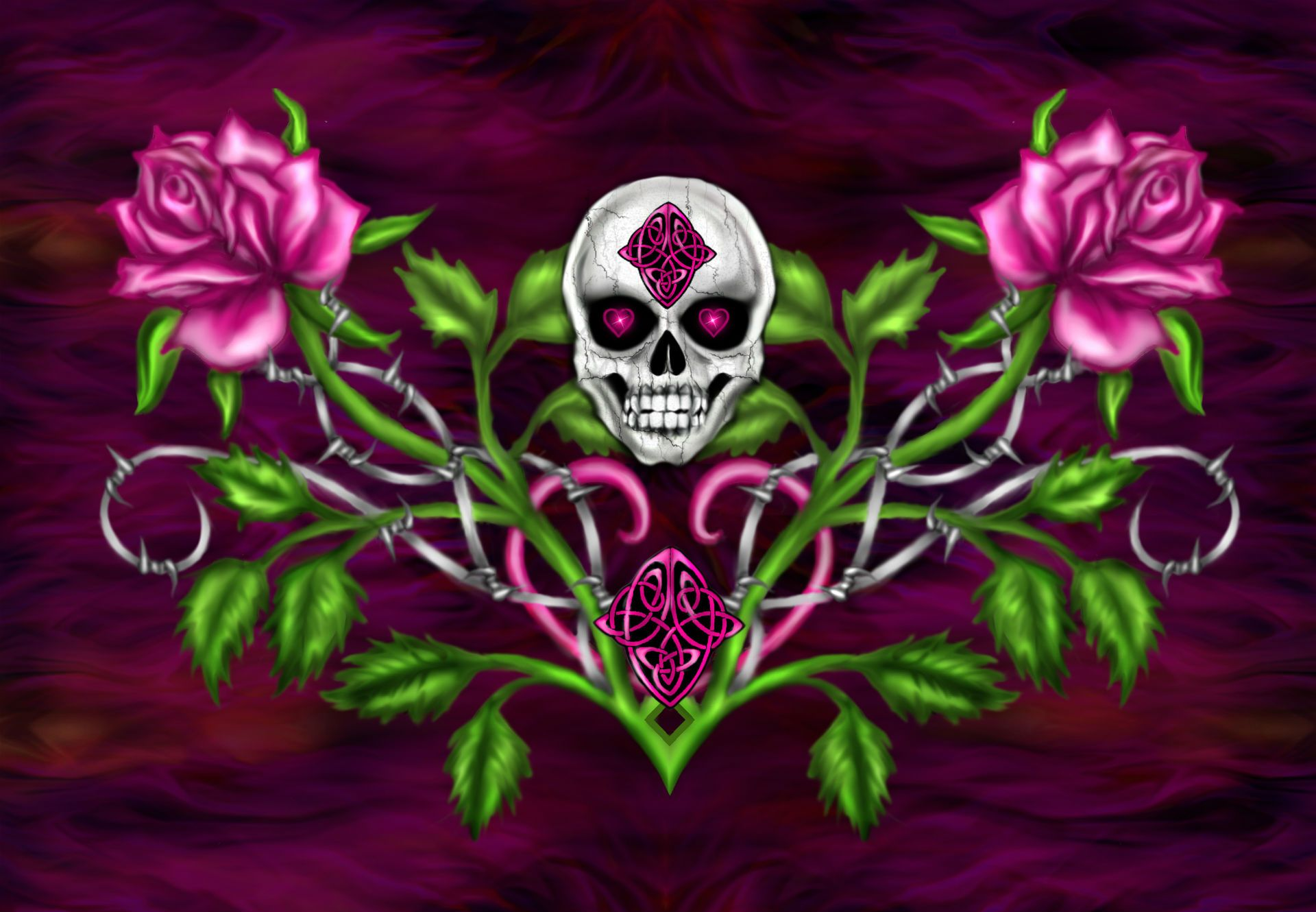 Gothic skull wallpapers   SF Wallpaper Gothic Skulls Wallpapers Group  61
