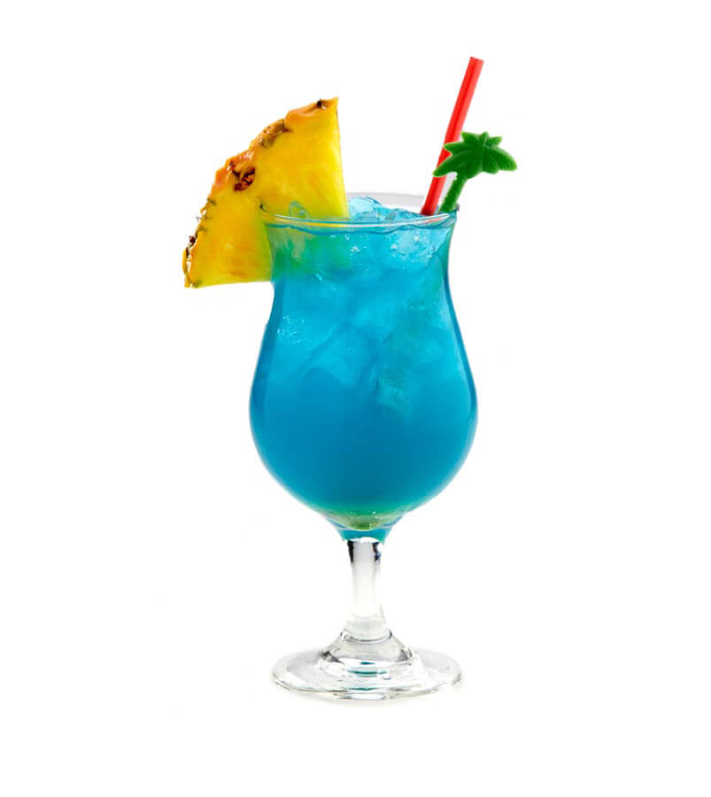 Blue Hawaii Cocktail Recipe - ShakeThat