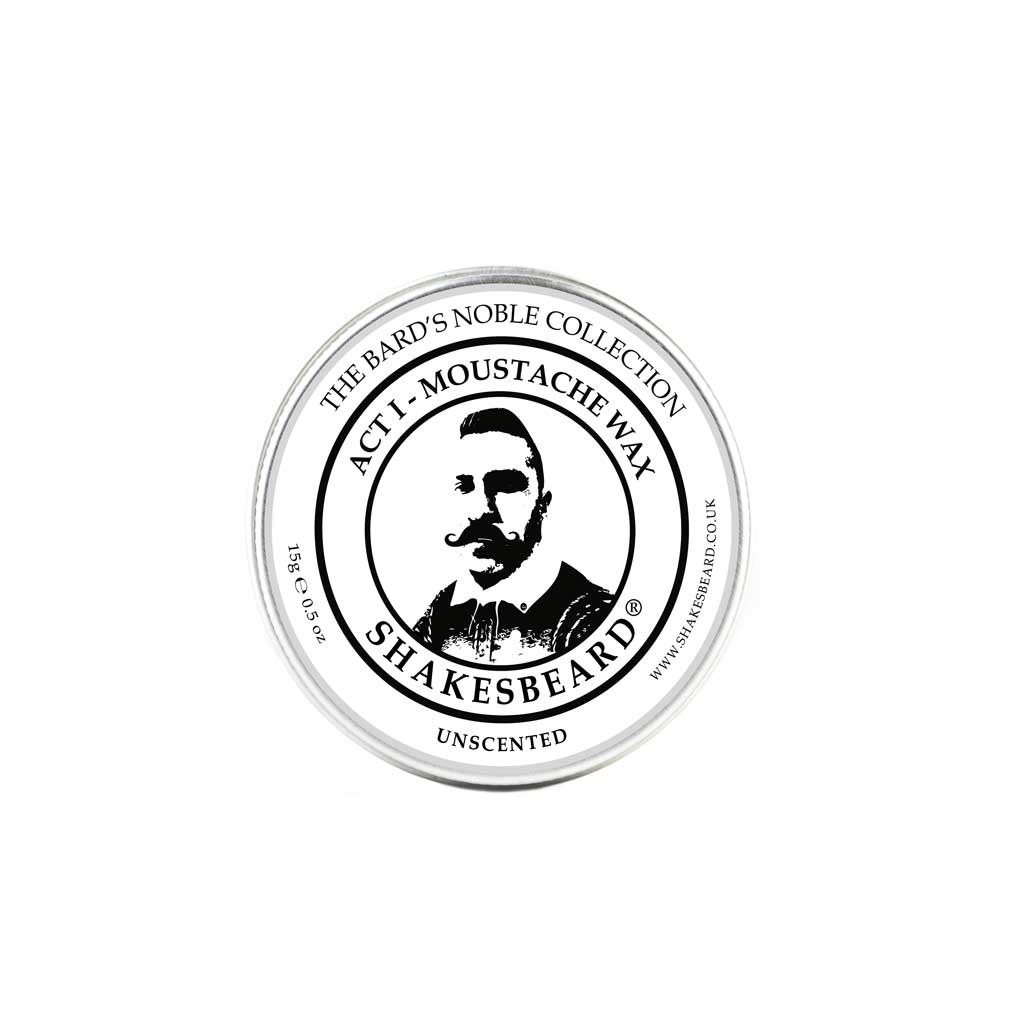 Unscented Moustache Wax 15g