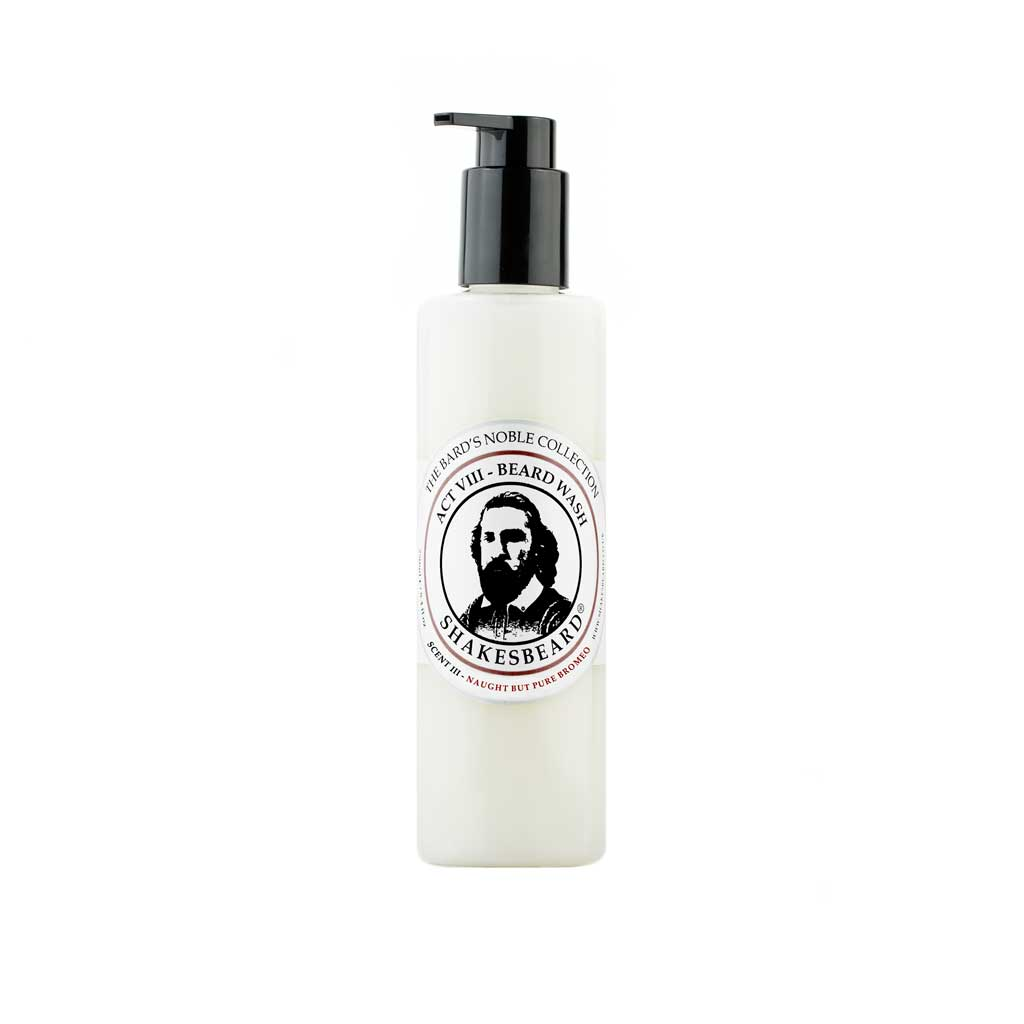 Classic Cedarwood Beard Wash 250g Naught But Pure Bromeo