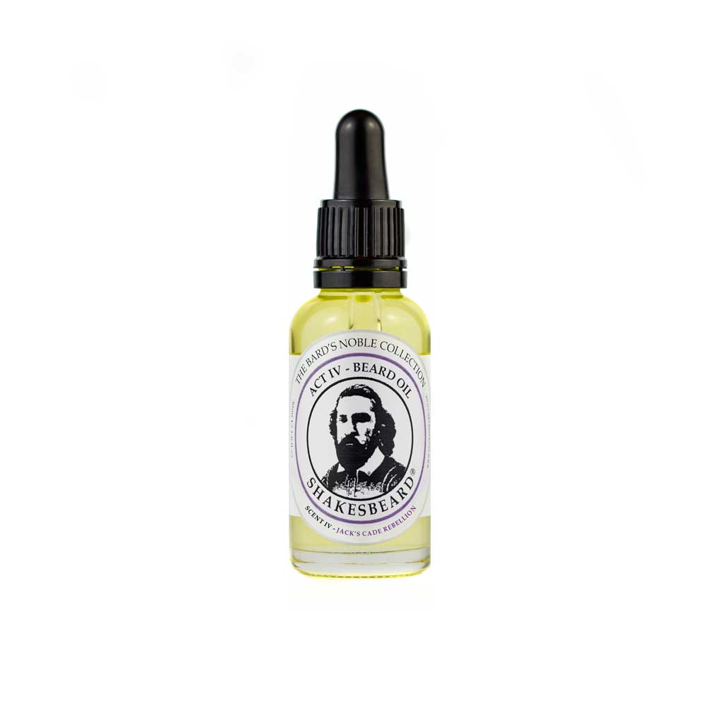 Rich Fruity Fig & Blackcurrant Beard Oil 30ml Jacks Cade Rebellion