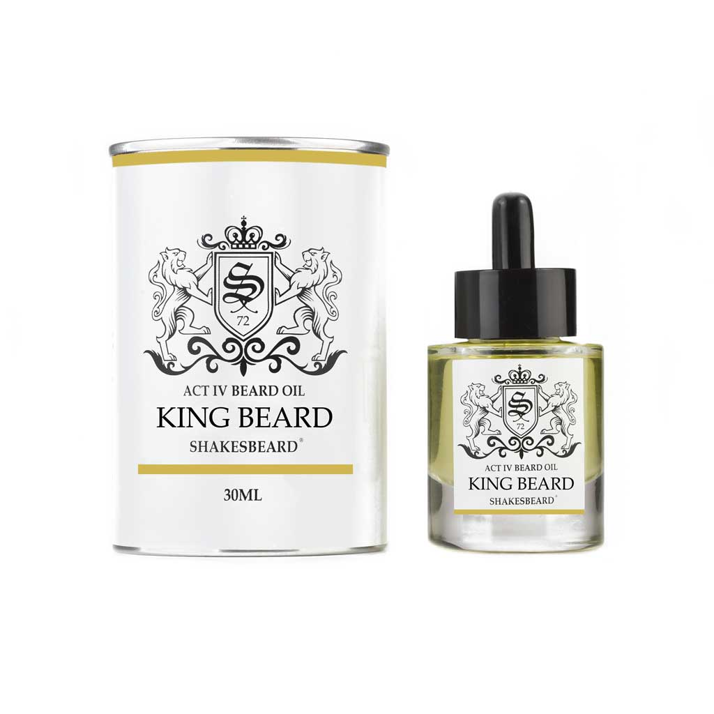 Shakesbeard Beard Care Ultra Premium Beard Oil 30ml King Beard