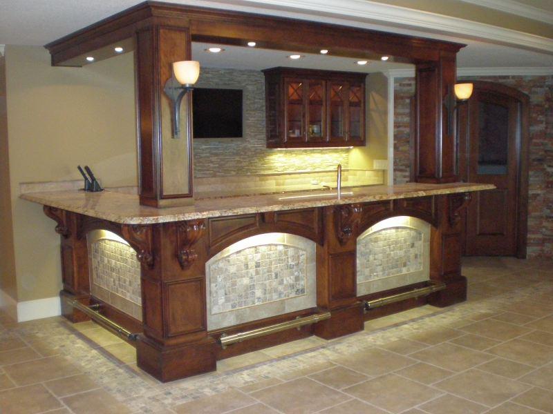Shamrock Cabinet Custom Bars In Raytown Mo