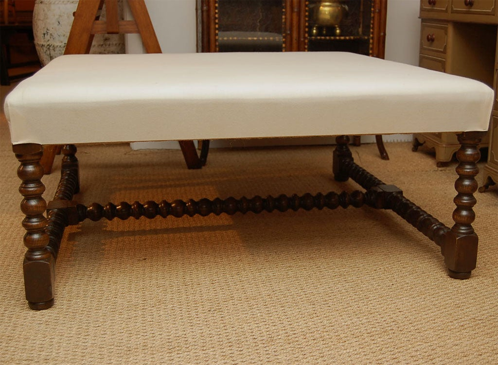 Square Padded Coffee Table