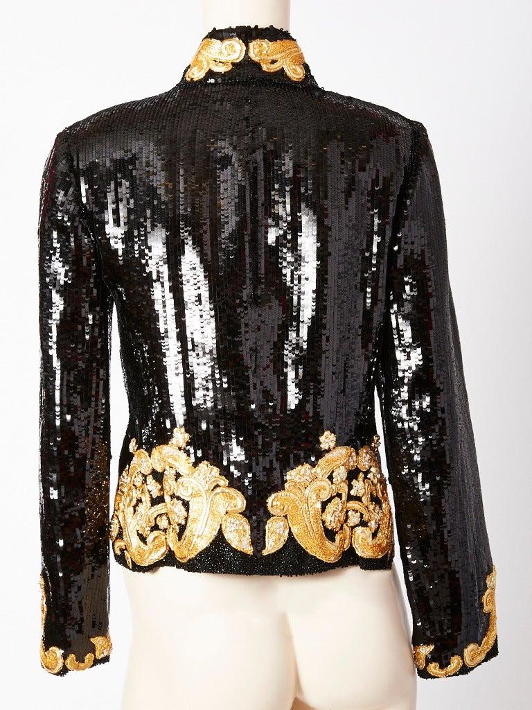Beaded Formal Jacket Plus Size