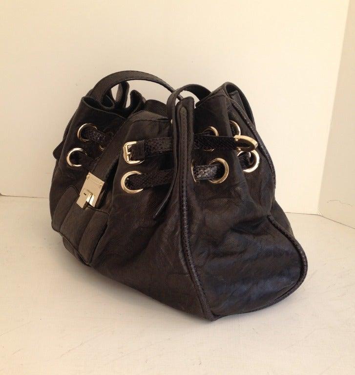 Zippers And Handbag And Jimmy Choo