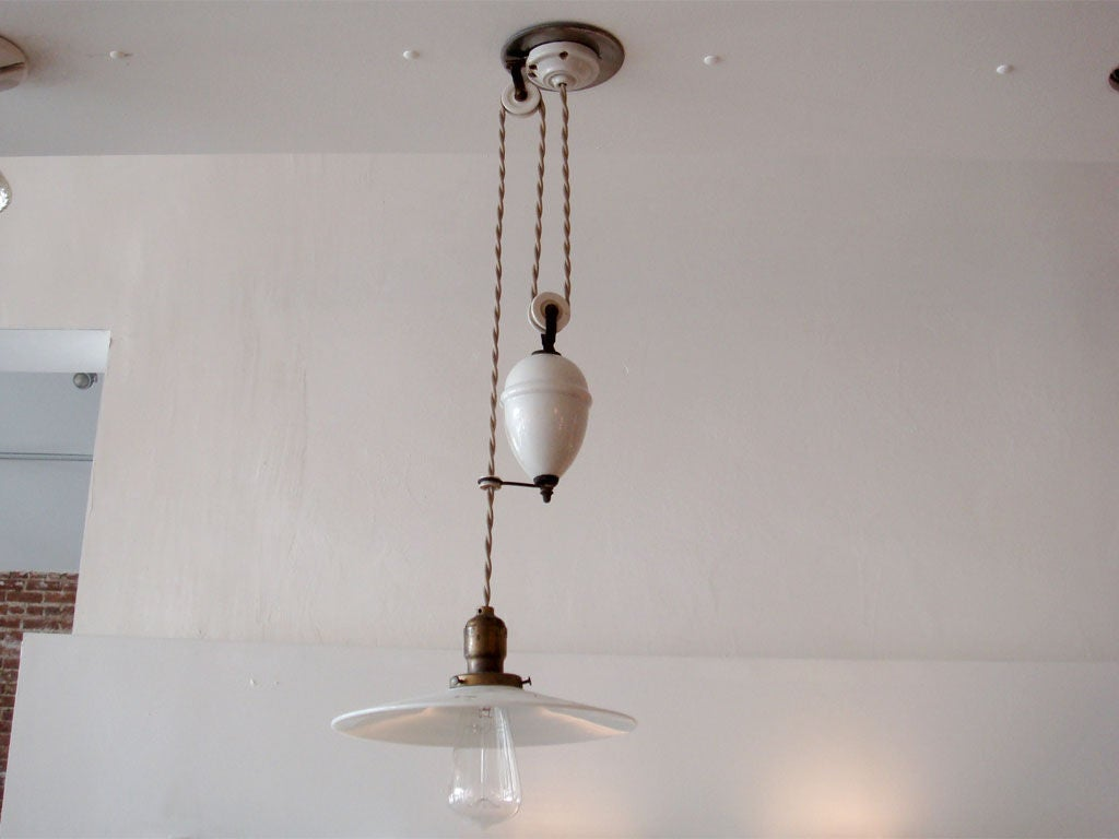 Rise And Fall Pendant Light Mechanism
