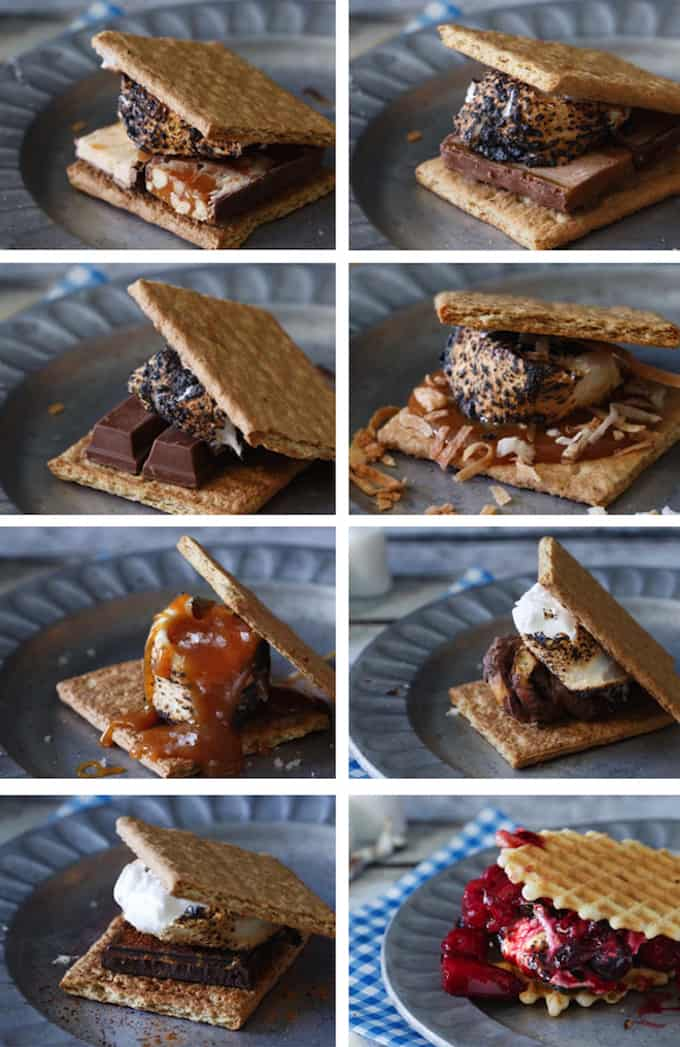 The Best S Mores Recipe Ultimate S Mores Bar