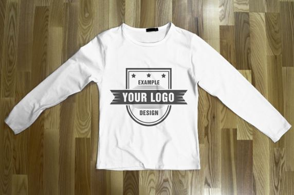T Shirt Template Wood
