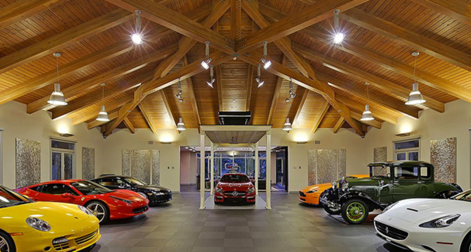 Daily 5 The Exotic Car Garage Of Your Dreams Plus The