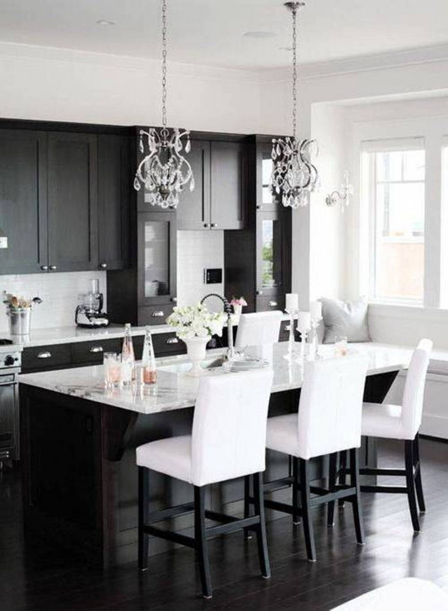 Best 30 Monochrome Kitchen Design Ideas – The Wow Style This Month