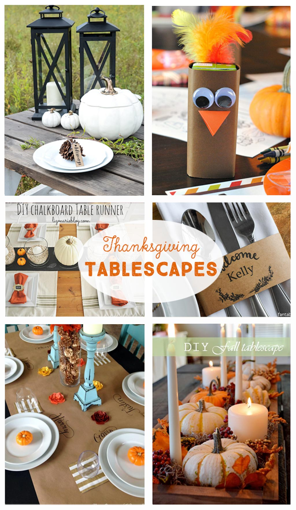 Best Diy Thanksgiving Tablescapes The Crafting Ch*Cks This Month