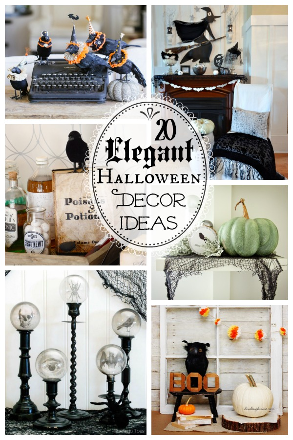Best 20 Spooktacularly Elegant Diy Halloween Decor Ideas The This Month