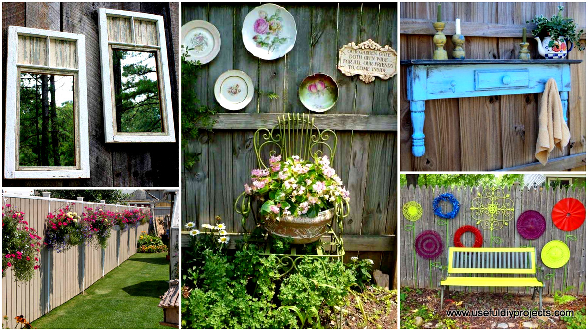 Best Top 23 Diy Garden Fence Decorations To Mesmerize Pedestrians This Month