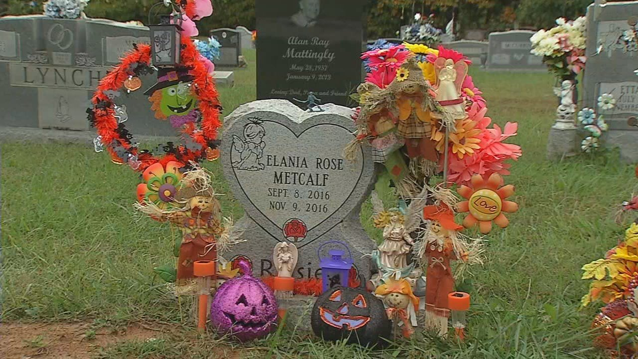Best Decorations Stolen From 2 Month Old Girl's Grave In This Month