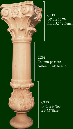 Best Decorative Column Handcarved And Crafted Wood Decorative This Month
