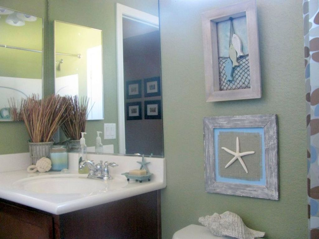 Best Tiny Bathroom Design Ideas In Beach Theme This Month