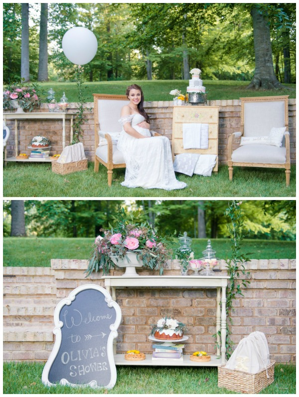 Best Whimsical Outdoor Baby Shower Pretty My Party This Month