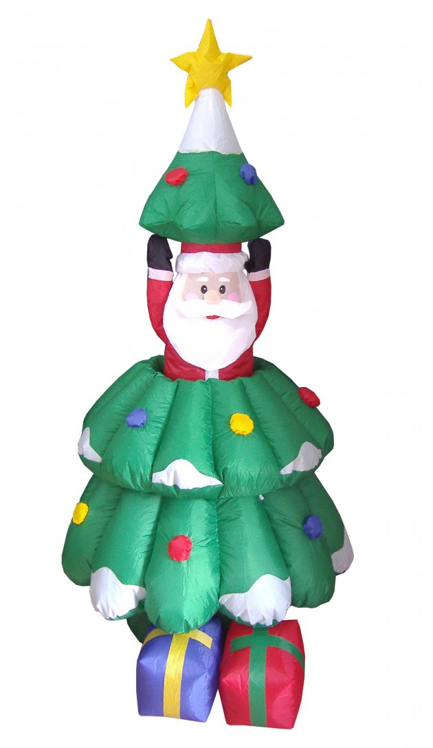 Best 21 Funny Inflatable Christmas Decorations This Month