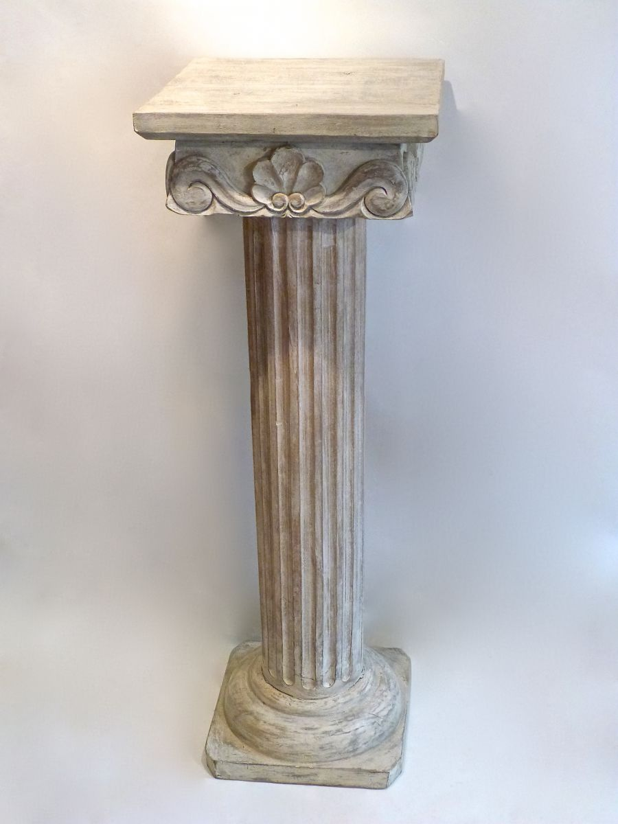 Best A Painted Carved Decorative Wooden Column Stock This Month