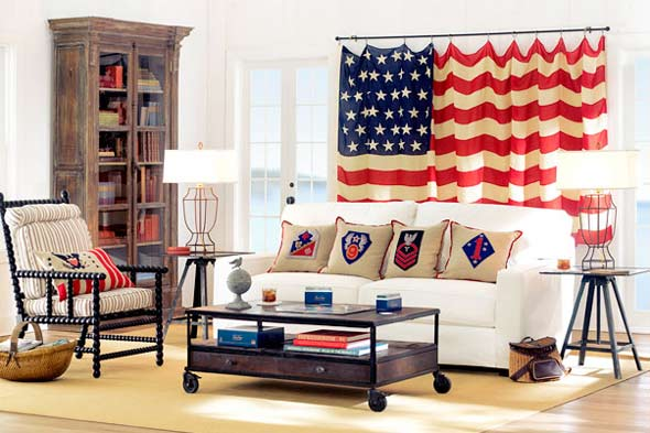 Best Fourth Of July How To Decorate With The United States Flag This Month