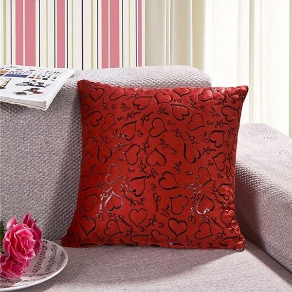 Best Heart Style Sofa Home Bed Decorative Throw Pillow Case This Month
