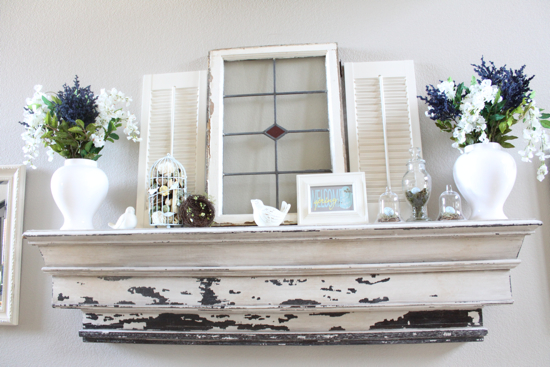 Best Gorgeous Spring Mantels Decorate Mantel This Month
