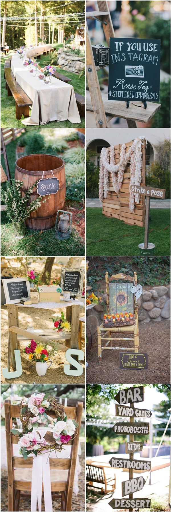 Best 35 Rustic Backyard Wedding Decoration Ideas Deer Pearl This Month