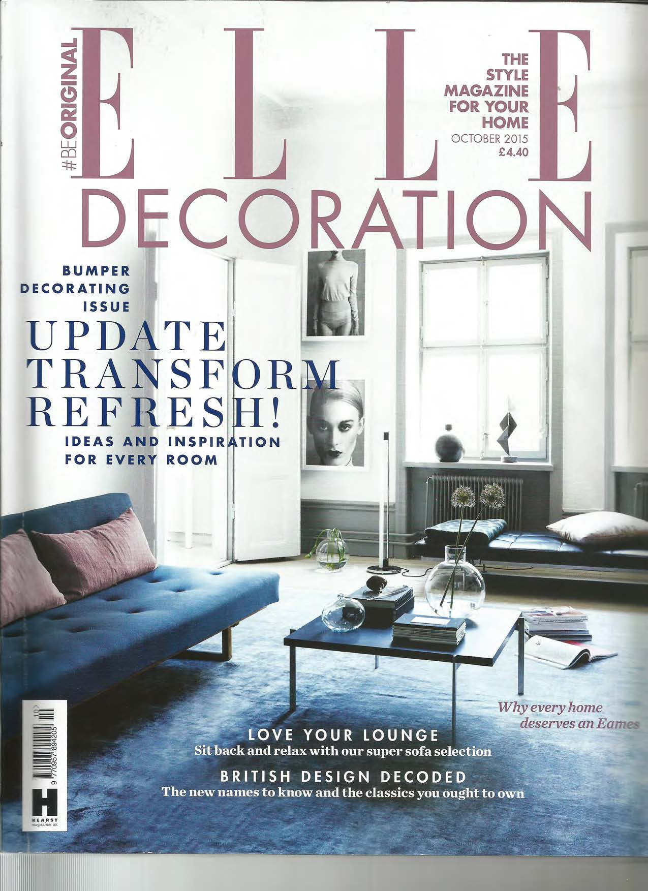Best House On Water Ltd Featured In Elle Decoration Uk This Month