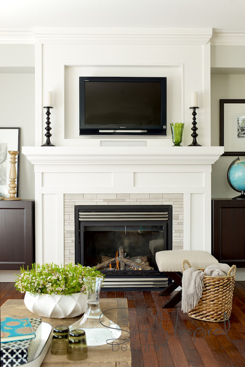 Best Hanging Your Tv Over The Fireplace Yea Or Nay Driven This Month