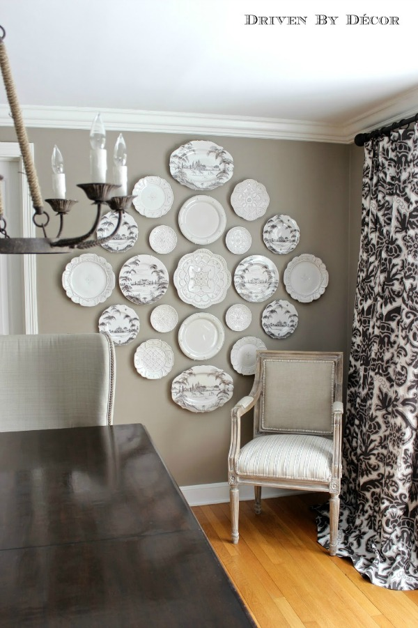 Best A New Decorative Plate Wall In Our Dining Room Driven By This Month