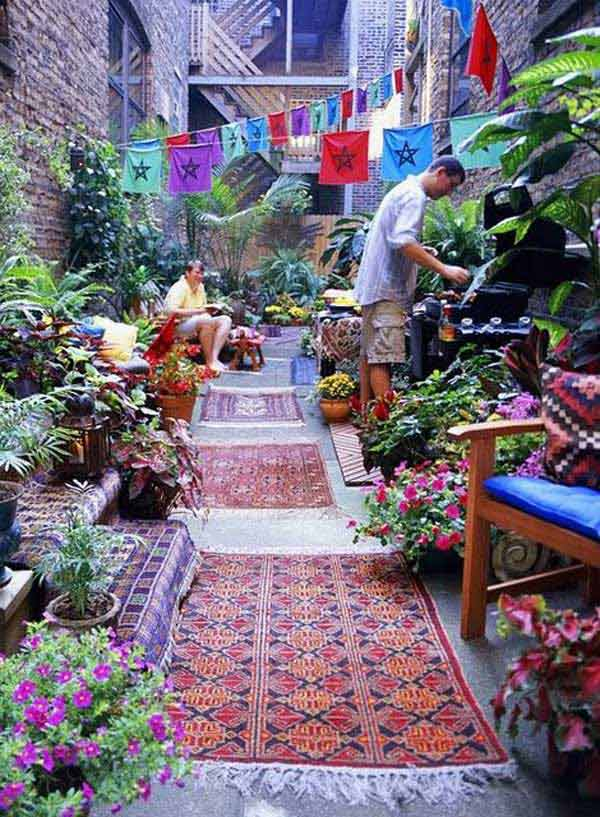 Best Top 34 Amazing Garden Decor Ideas In Bohemian Style This Month