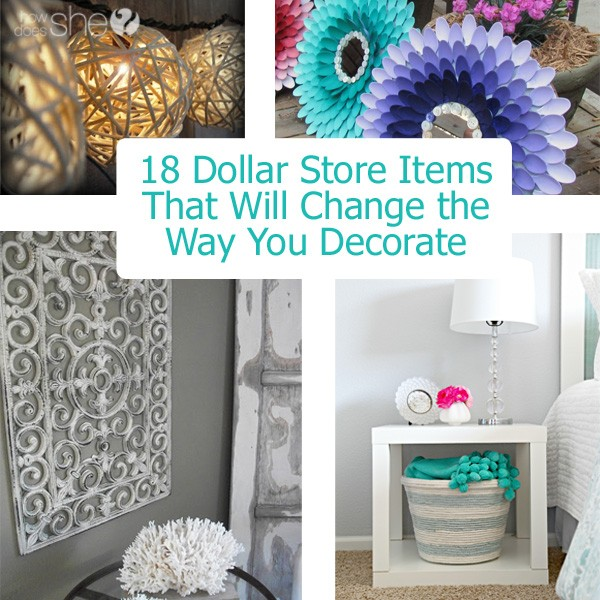 Best How To Decorate With Dollar Store Items 18 Ideas This Month
