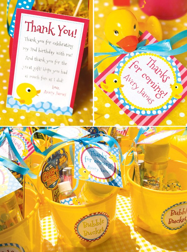 Best Rubber Ducky Birthday Party Hostess With The Mostess® This Month