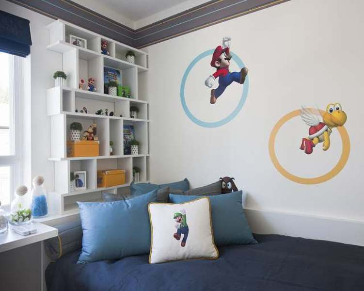 Best 7 Cool Video Games Themed Room For Kids Kidsomania This Month