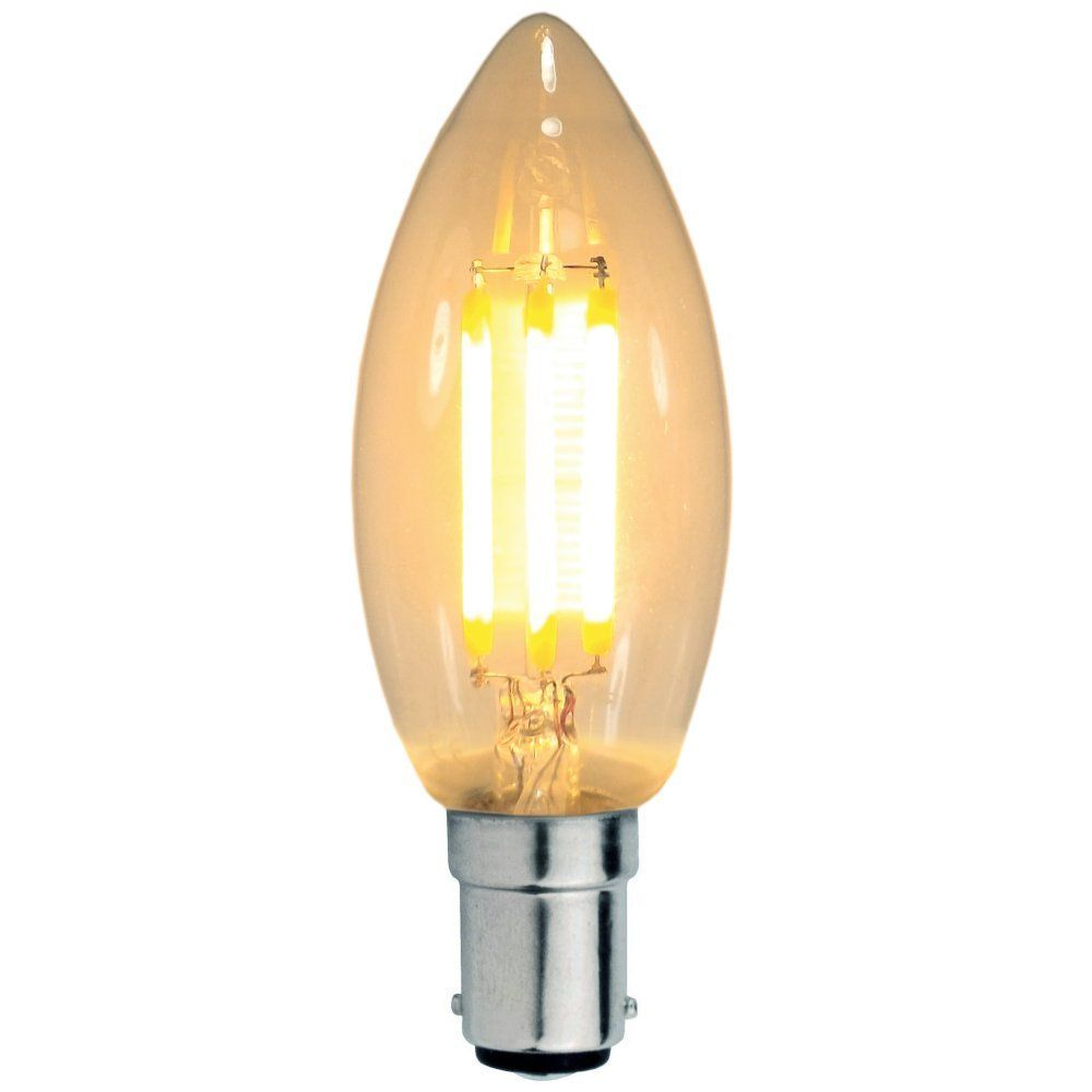 Best 3 Watt Sbc B15Mm Decorative Antique Filament Led Candle Bulb This Month