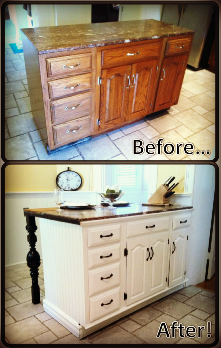 Best Diy Kitchen Island Renovation Pieces Of Me This Month