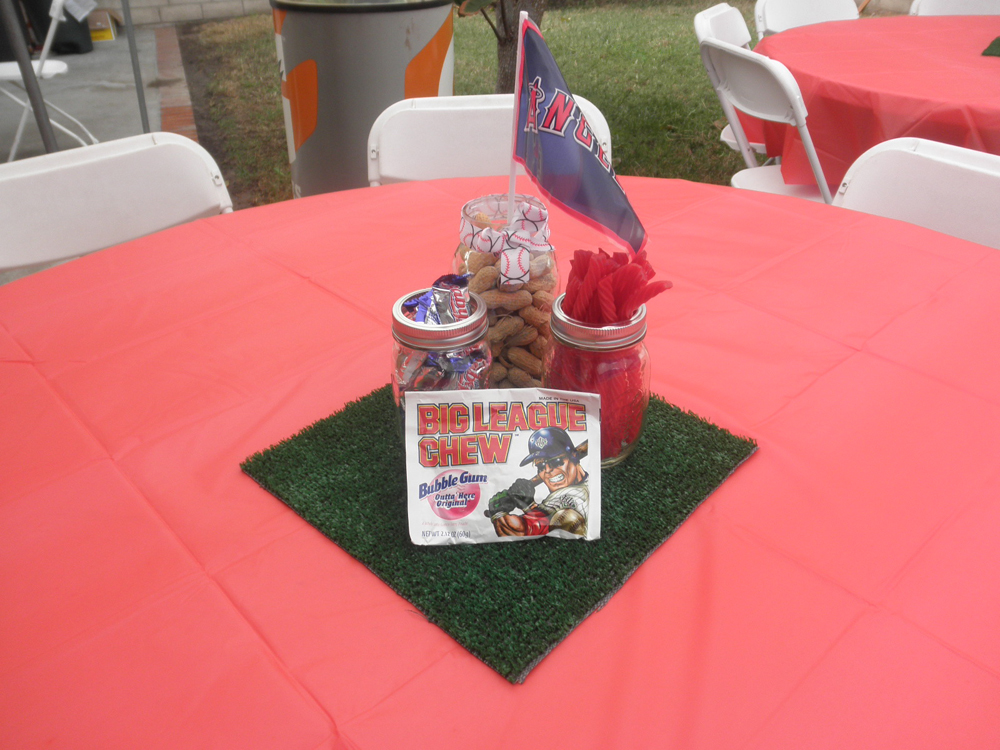 Best These Baseball Centerpieces Are A Home Run B Lovely Events This Month