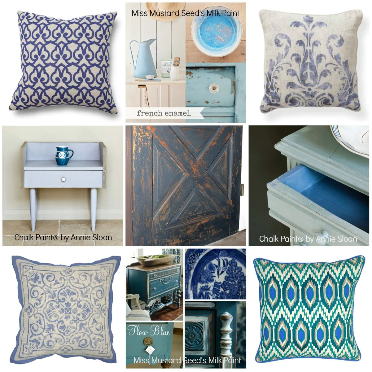 Best Blue Is Trending Bella B Decor Has Plenty In Paint This Month