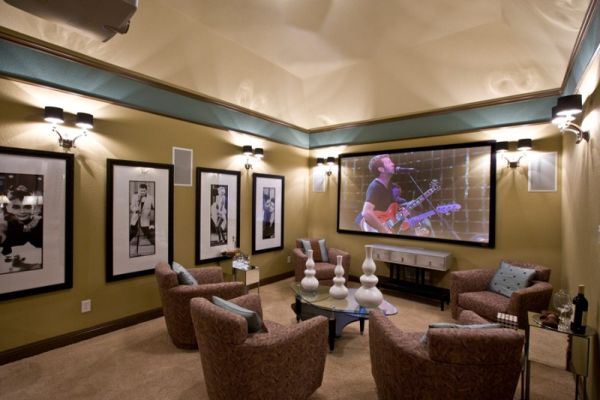 Best 35 Modern Media Room Designs That Will Bl*W You Away This Month