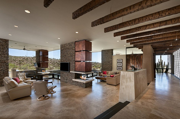 Best Desert Home In Arizona Has Spacious Interiors And Stunning This Month