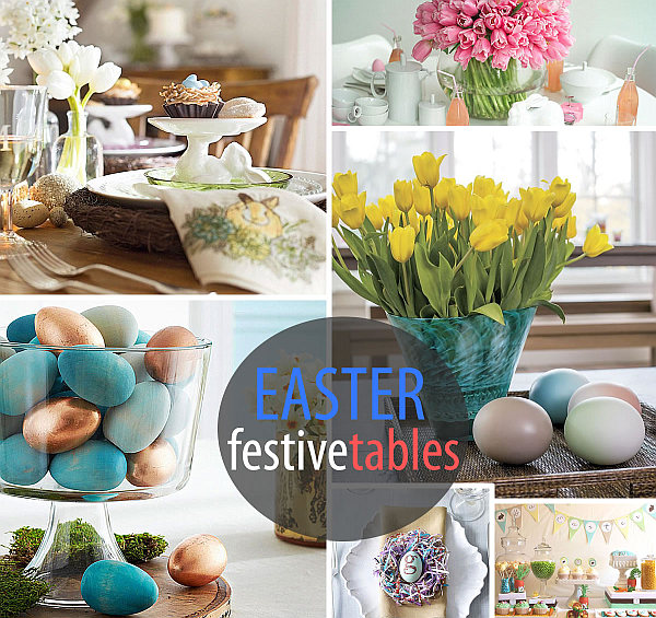 Best 10 Festive Easter Table Settings This Month