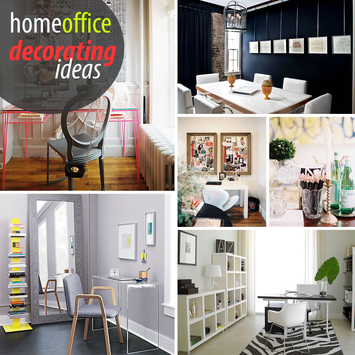 Best Creative Home Office Decorating Ideas This Month