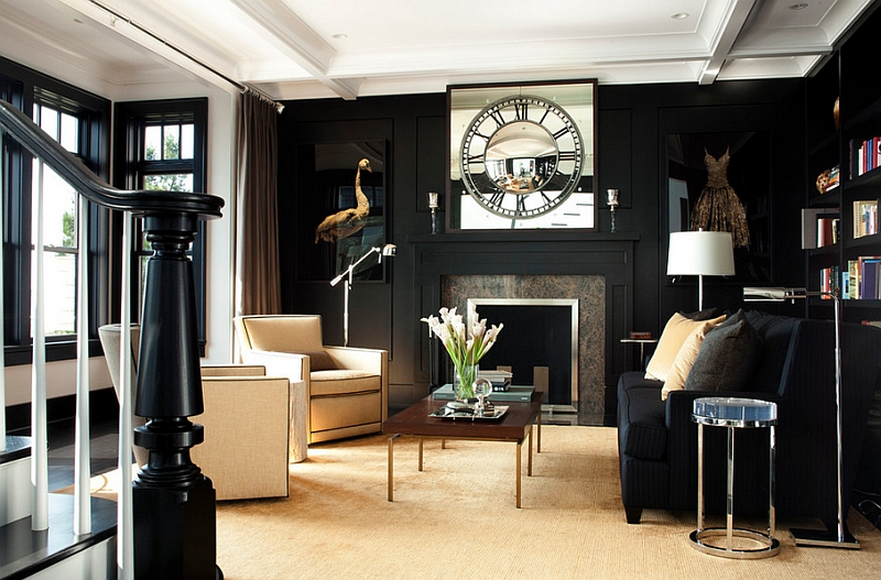 Best Black And White Living Rooms Design Ideas This Month