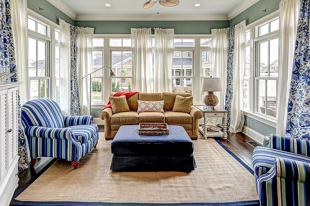 Best 25 Cheerful And Relaxing Beach Style Sunrooms This Month